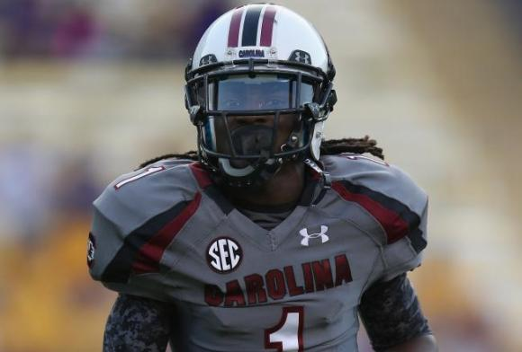 South Carolina wide receiver/punt returner Ace Sanders
