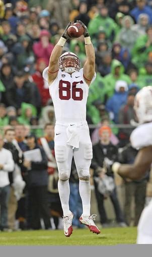 Stanford tight end Zach Ertz