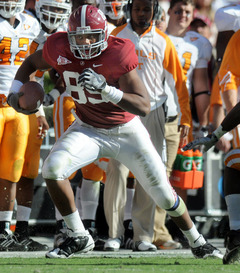 Alabama tight end Michael Williams
