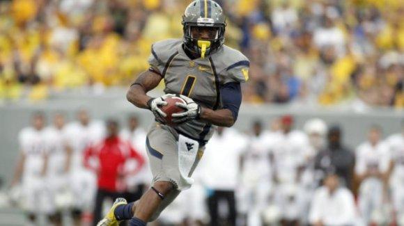 West Virginia wide receiver Tavon Austin