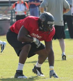 Arkansas Pine-Bluff Offensive Guard Terron Armstead