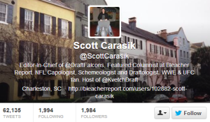 Scott Carasik  ScottCarasik  on Twitter