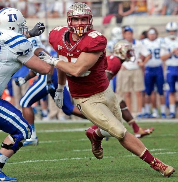 Florida State defensive end Bjoern Werner vs.Duke